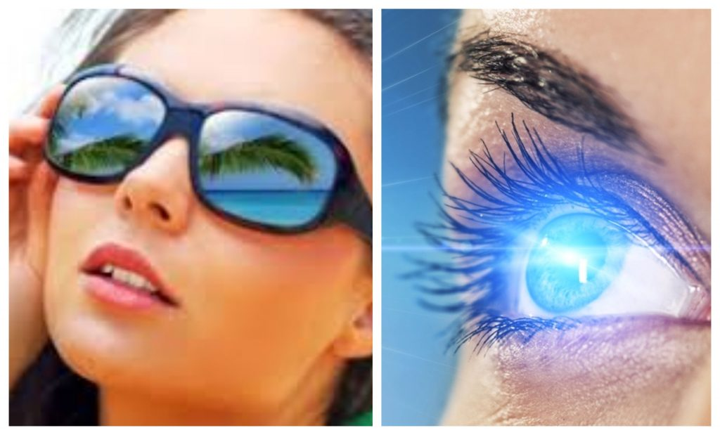 you can not forget eye protection in summer