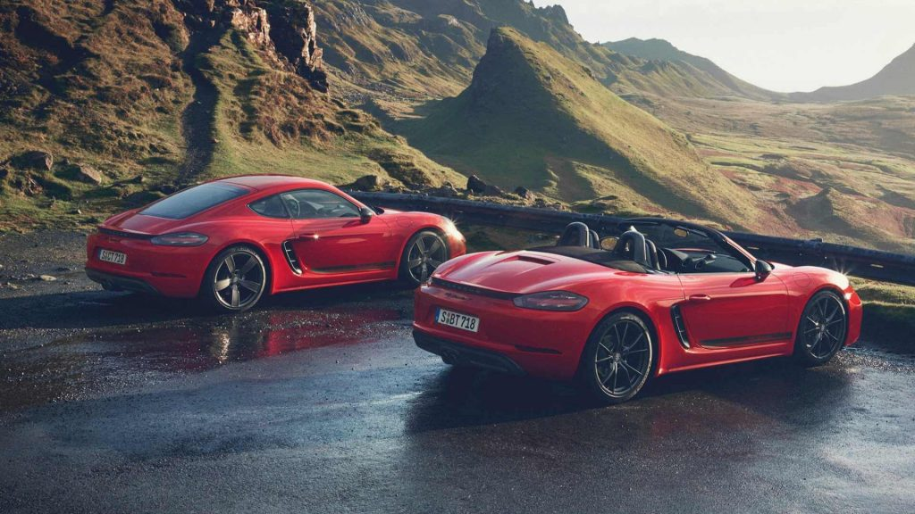 Porsche 718 Boxster and 718 Cayman:Best sports car