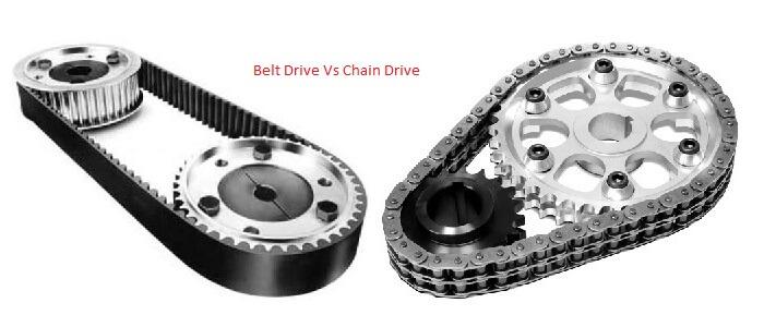 Belt Drive vs Chain Drive