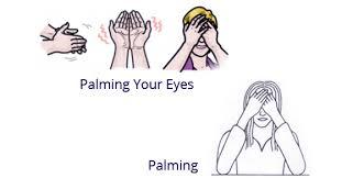 Eye Palming