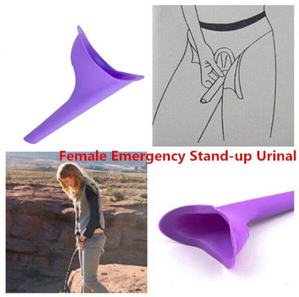 Shewee, a portable urinating device