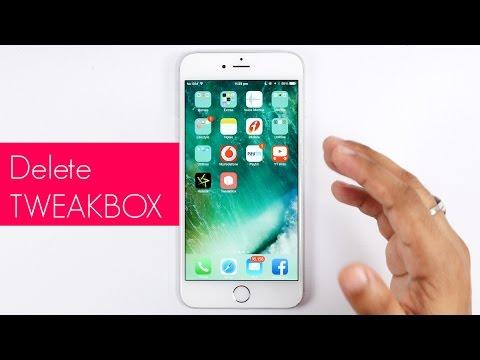 Delete tweakbox if unsafe