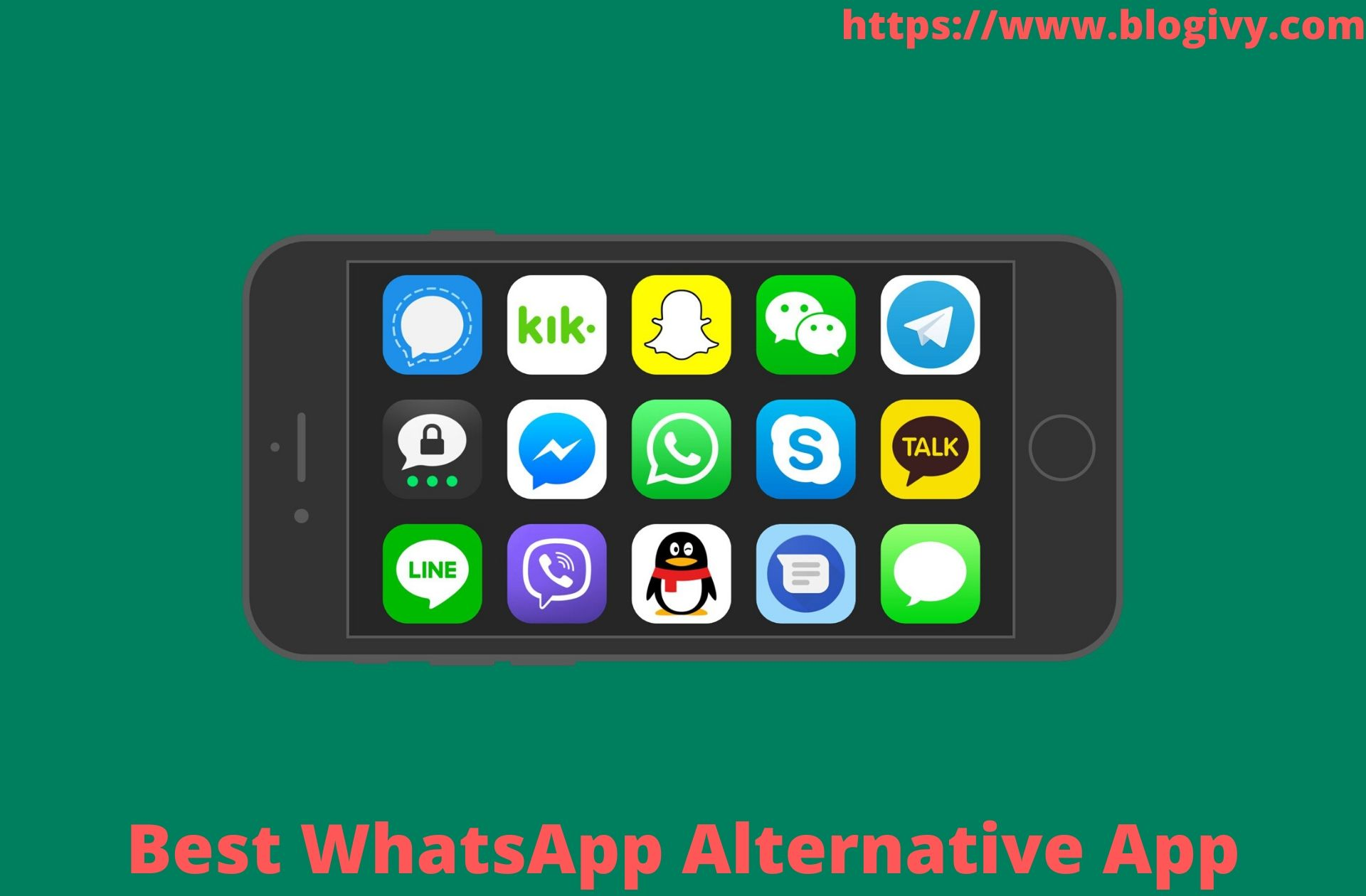 Best Whatsapp Alternative App