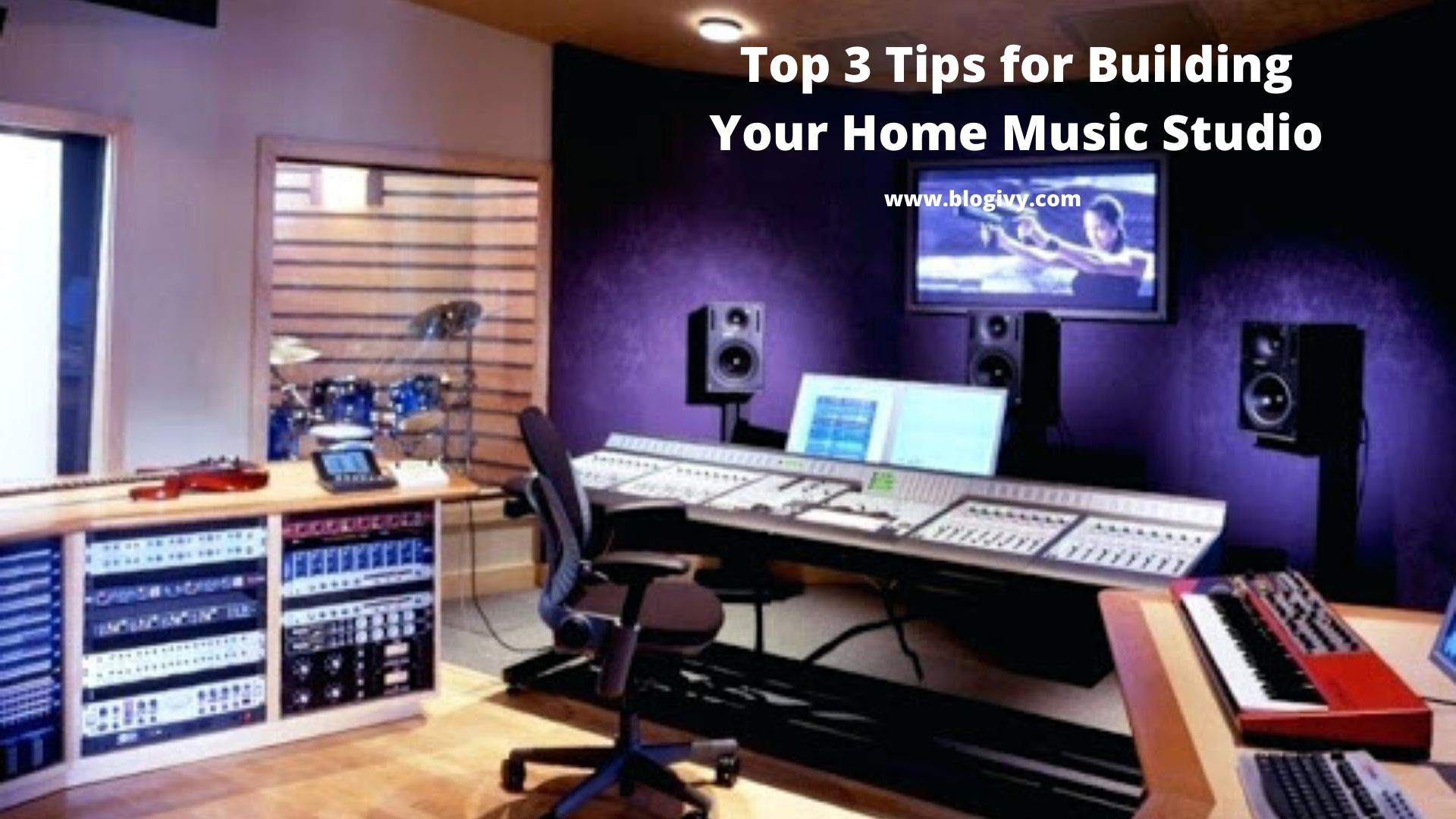 Top 3 Tips for Building Your Home Music Studio