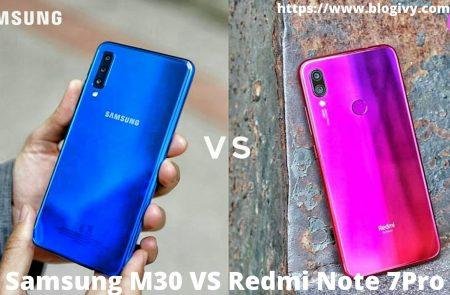 Redmi 7Pro Vs Samsung M30